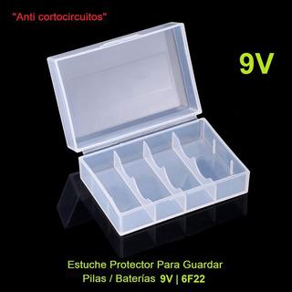 Estuche Protector Para Guardar Pilas/baterías 9v | 6f22