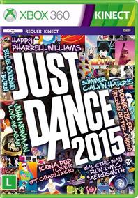 Just Dance 2015 X360 Português, Midia Fisica Frete Grátis