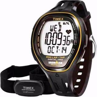 Reloj Timex Ironman 5k726 Con Banda Cardiaca Hrm Digital