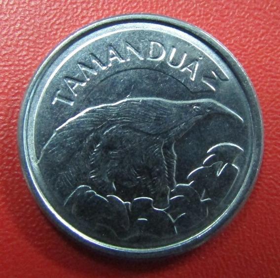 Brasil Moneda 10 Cruzeiros 1993-1994 Tamandua