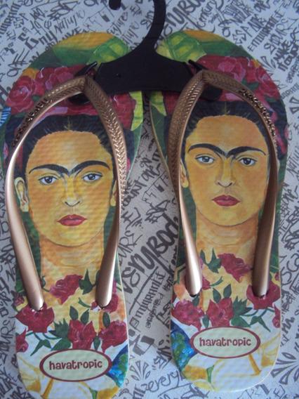 Ojotas Frida Kahlo Todos Los Talles