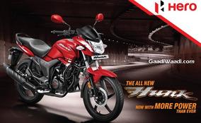 Moto Hero Hunk 150 14.5 Hp 0km 2017 India 3 Años Gtia