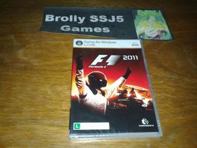 Formula 1 2011 Lacrado Original Computador Pc Game F1 2011