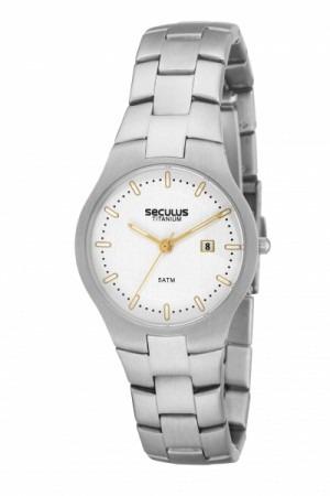 Relógio Seculus Masculino 20015l0stnt2