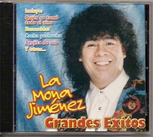 Carlitos La Mona Jimenez Grandes Exitos Cd Original
