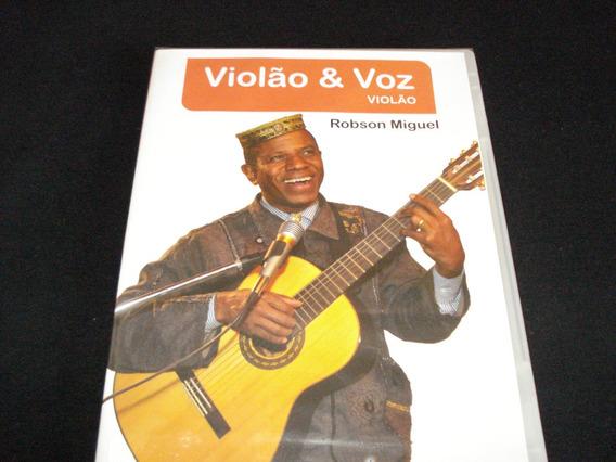 Vídeo Aula Violão & Voz - Robson Miguel