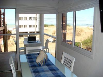 Pinamar Alquilo Deptos Frente Al Mar 1 Dorm Parrilla Balcon