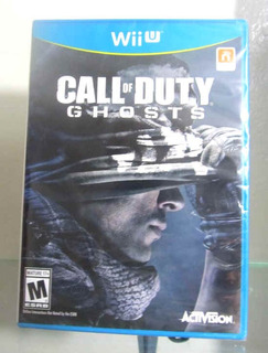 Wii U Call Of Duty Ghosts Wii Nuevo Sellado Nintendo