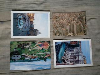 Cartão Postal - Mini Coleção, Nacional E Estrangeiro.
