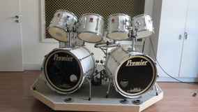 Bateria Premier Resonator Anos 80 Made In England Raridade