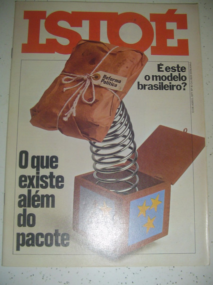 Revista Istoé 16 Politica Ney Matogrosso Ravache Nanini 1977