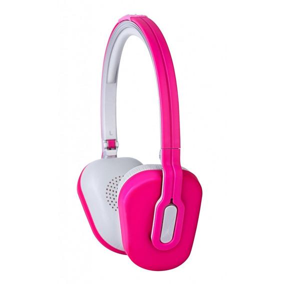 Fone De Ouvido Dobrável C/ Microfone E Controle Volume Pink