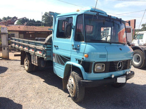 Caminhão 3/4 Mercedes Benz L 608 Carroceria - Ano 1985