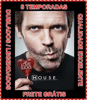 Dr. House (1ª Até 8ª Temporada) Seriado + Frete Grátis