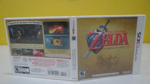 The Legend Of Zelda Ocarina Of Time 3d - N3ds - Completo!