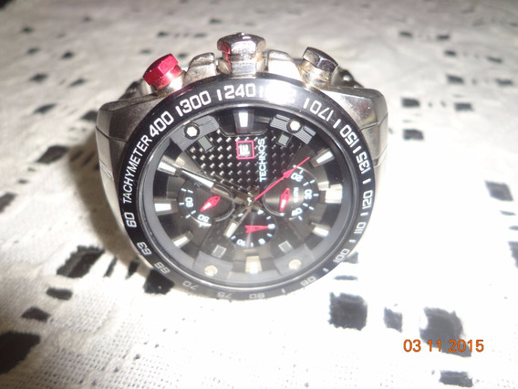 Relógio Technos Grandão Analógico 4 Ponteiros E 3 Chaves