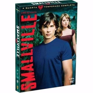 Dvd Smallville: 4ª Temporada Completa (6 Dvds) Novo
