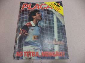 Revista Placar Nº 725 - 13 Abril 1984 - Ao Tetra Mengão
