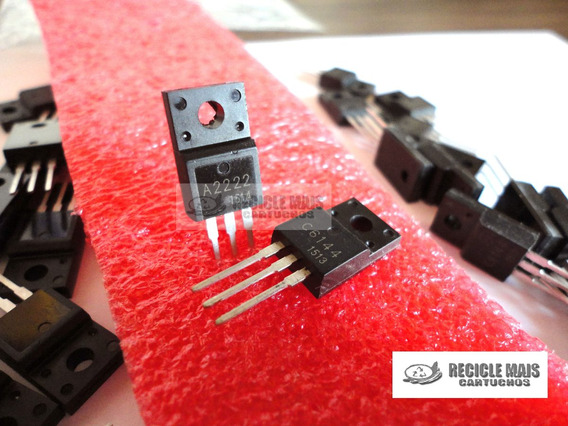 1 Par Transistor A2222 / C6144 Ou 2sa2222 Epson