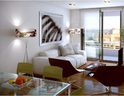 Apartamento De 1 Dormitorio Con Amplio Jardin Y Cochera