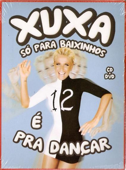 Dvd + Cd Xuxa - Xspb 12 - É Pra Dançar - Novo***