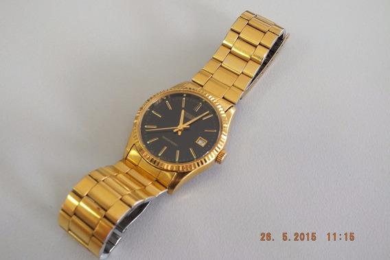 Orient Masculino Dourado Déc. 80