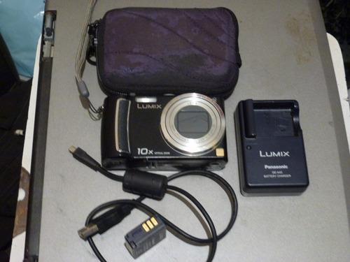 Camera Digital Panasonic Tz 5,lente Leica 10x Zoom Otico