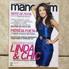 Revista Manequim 611 Jun/2010 Patrícia Poeta - Sem Moldes