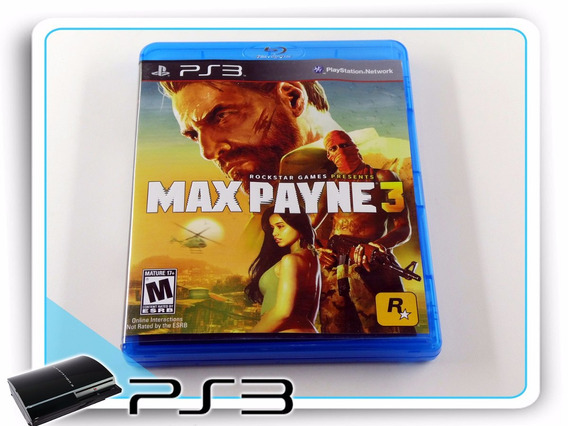 Ps3 Max Payne 3 Original Playstation 3