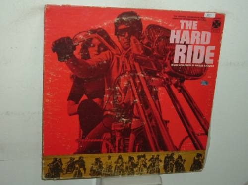 Harley Hatcher The Hard Ride Soundtrack Vinilo Americano