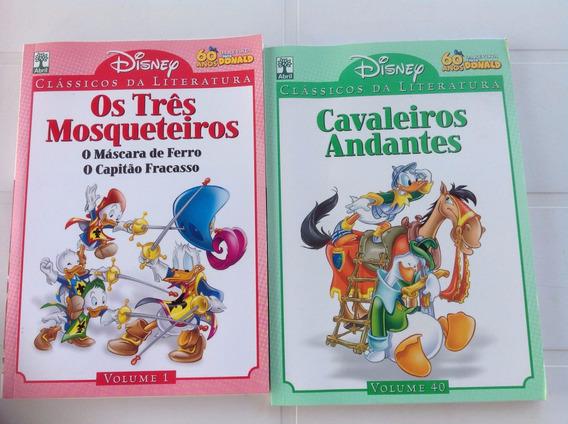 Disney - Clássicos Da Literatura - 14 Vo.l- Veja Descrição