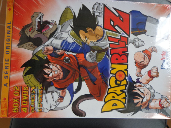 Box Dragon Ball Z Volume 2 + 3 Lacrado Dragonball 8 Dvds