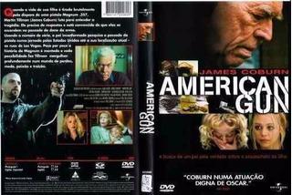 Dvd Filme American Gun Original Usado