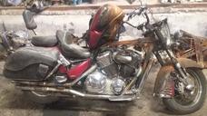 Motocicleta Honda Vtx1800 Partes 2003 Roja