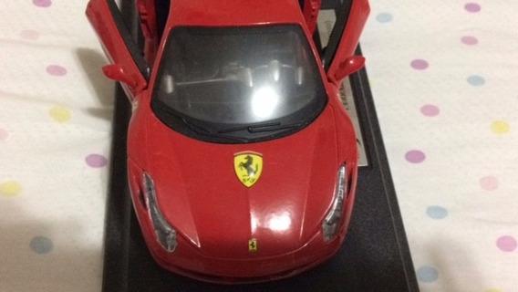 Miniatura Ferrari Vermelha 1:24