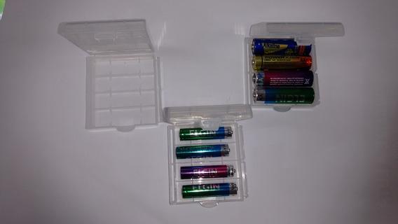 Case Pilhas Organizador Aa Ou Aaa 1 Peca