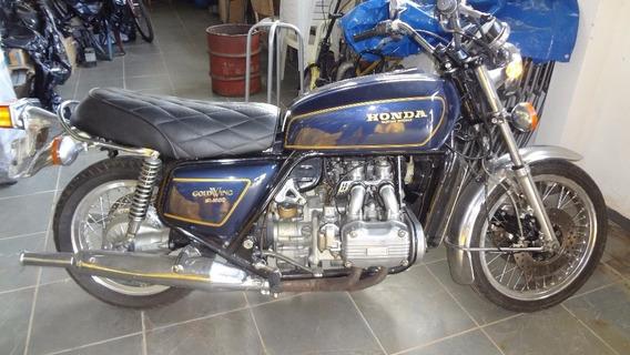 Honda Gold Wing Gl 1000 - 1976 - Placa Preta - Apenas Venda