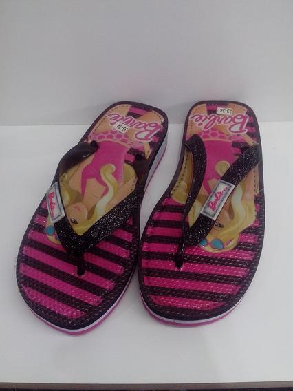 Ojotas Barbie 33-34
