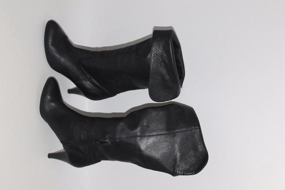 Botas Sarkany De Cuero Color Negro Numero 37