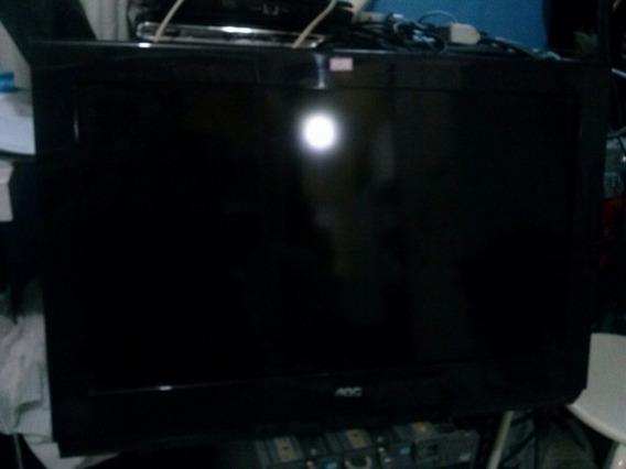 Tv Aoc 26 D26w931 Funcionando Ok Com Controle E Base Lcd