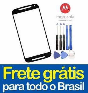 Lente Frontal Moto G3