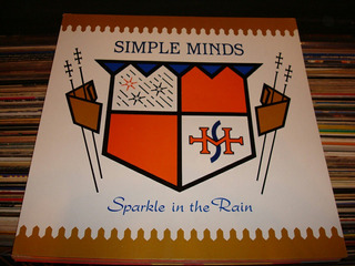 Simple Minds - Lamina Del Vinilo - Sparkle In The Rain
