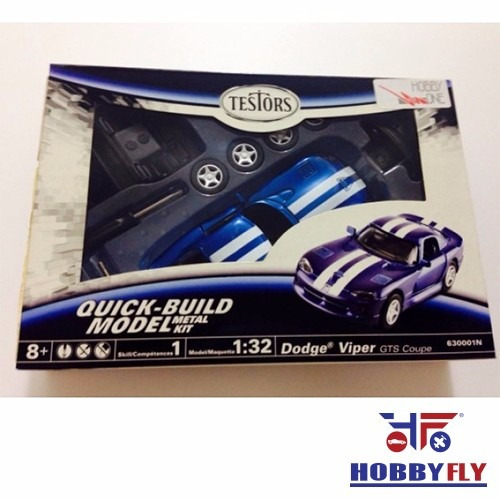 Dodge Viper Gts Coupe Kit Metal 1/32 - Testors