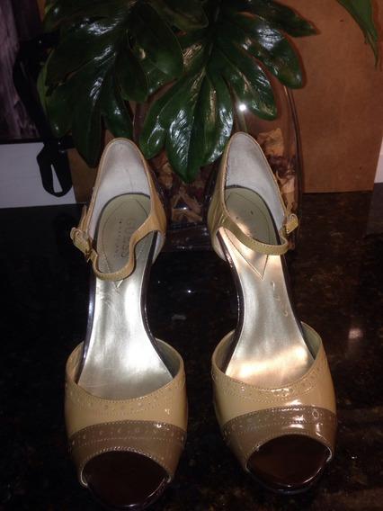 Zapatos Sandalias Guess Charol. Sarkany Paruolo