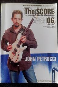Livro Songbook Dream Theater - John Petrucci (the Score)guit