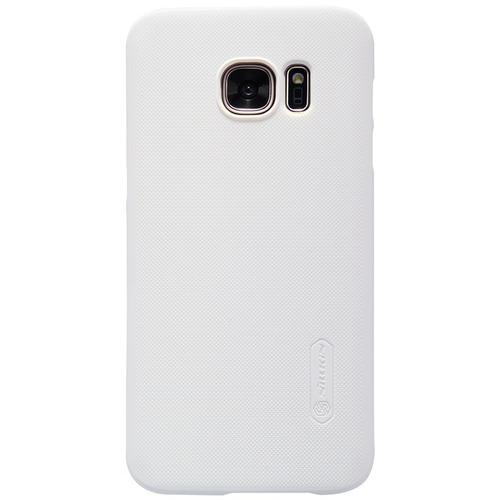 Imagen 1 de 7 de Carcasa Protector Nillkin Frosted Shield Samsung S7, Blanco
