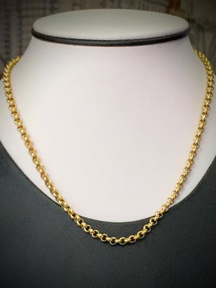 Colar Em Ouro 18k (750)-7.8gr.-40cm.