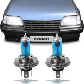 Kit Lampada Super Branca Kadett Farol Baixo/alto Lampada H4