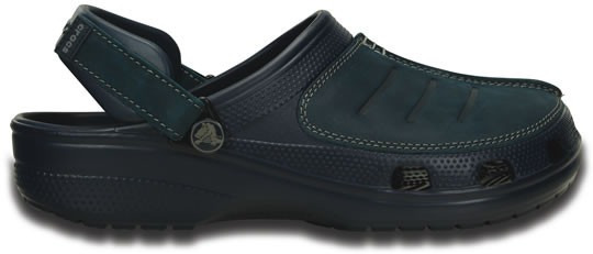 Zapato Crocs Caballero Yukon Mesa Azul Marino