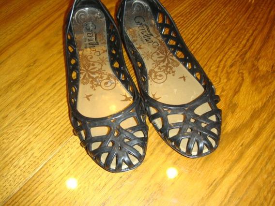 Zapatos Plastico Para Lluvia Nro: 39/40 Made In Brasil